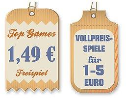 Günstige Computerspiele unter 5 Euro