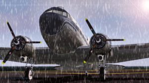 3D-Scnreeshot aus Flightgear der kostenlosen Flugsimulation