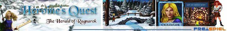 Heroine's Quest: The Herald of Ragnarok - Ein kostenloser Pixelgrafik-Adventure -Rollenspiel Mix! Charmant & mit tollem Gameplay und Spieltiefe