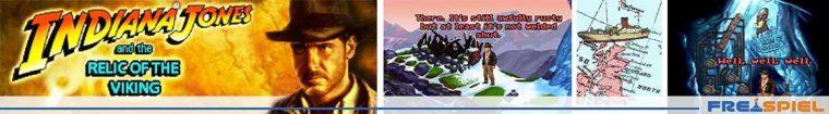 Indiana Jones and the Relic of the Viking - kostenloses Fangame in original Pixelgrafik zur Kult-Adventure-Serie