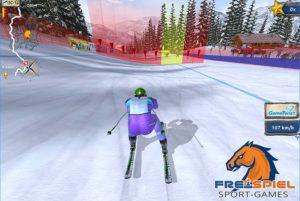 Ski Challenge Arcade Spiel