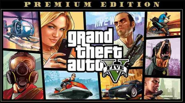 Grand Theft Auto V / FIVE (GTA 5) Premium Edition (PC) kostenlos im Epic Games Store!