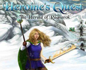 Wunderschön und selbstbewusst erscheint die Heldin in diesem Adventure / Rollenspiel