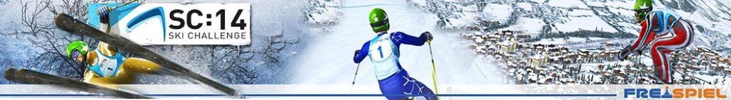Ski Challenge der Ski Spaß am Computer kostenlos als Vollversion bei Freispiel.de