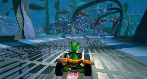 """Einmal mit dem Kart durch """"Seeworld"""" in Hochgeschwindigkeit! Das hätte wohl selbst auch Super Mario Spaß!"""