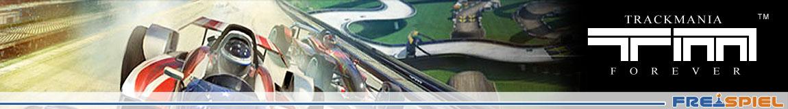 Das Rennspiel Trackmania Nations Forever als Vollversion zum Download bei Freispiel.de
